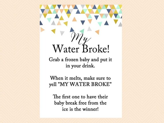 Lovely My Water Broke Frozen Baby Melt The Baby Ice Cube Game