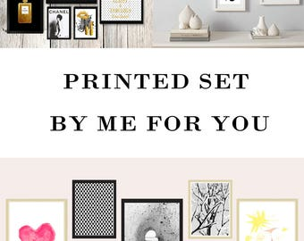 Custom order Printed by me for you Print My Digital prints instead of download them Fine Art Paper Giclee
