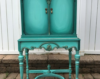 Tiffany & Co.  Inspired Vintage Chest - Linen Closet
