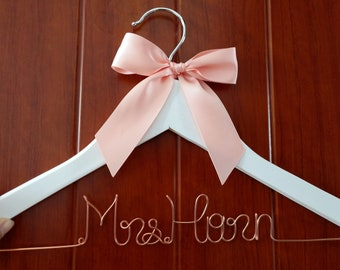 Free shipping Personalized Wedding Hanger,  name hanger, brides hanger bride gift,bride hanger for wedding dress  Christmas gift