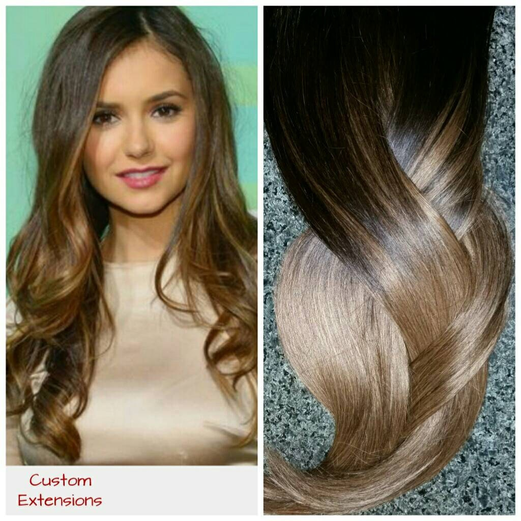Hair Extensions Balayage Extensions Balayage Sombre
