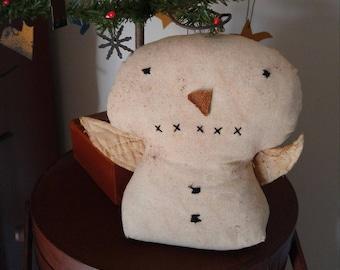 Handmade Primitive Snow Angel