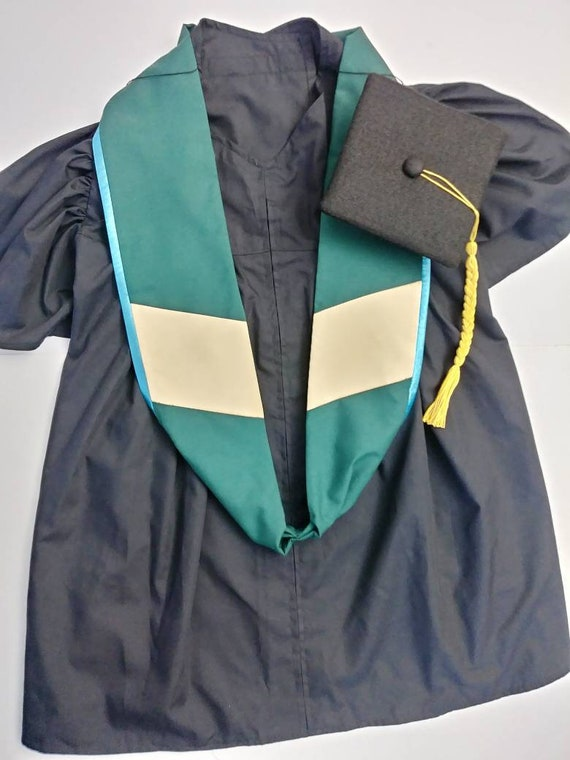 Doctoral Dog Graduation Cap Gown and Hood, Dog Doctoral Grad Cap and Gown, Academic Regalia Dog Cap and Gown, PhD Cap and Gown dog,