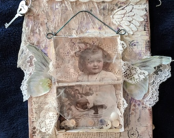 Vintage Child Wall Hanging