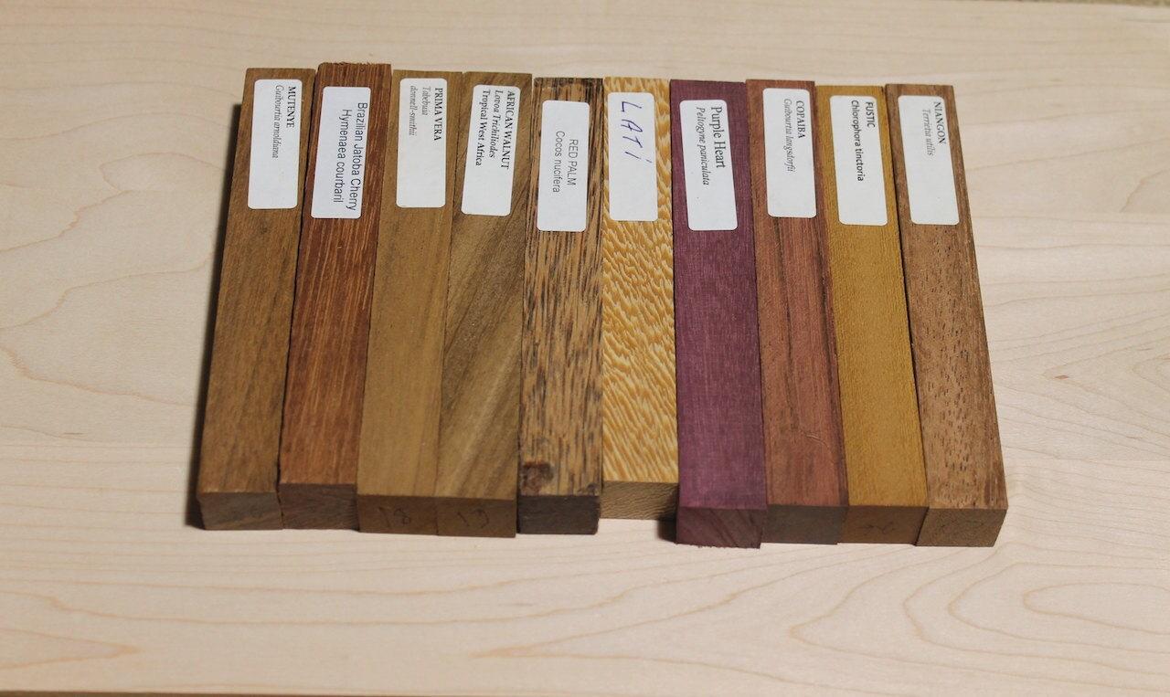 10 Exotic Wood Pen Blanks Pen Blanks For Sale Small