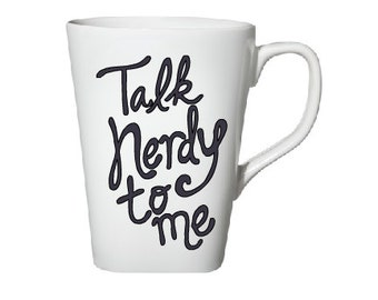 Talk Nerdy to Me Coffee Mug- Coffee Mug- Coffee- Funny Mug- Gift for Him- Gift for Her- Birthday Gift- Christmas Gift- Funny