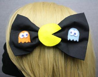 Pacman Hair Bows