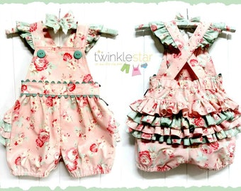 PATTERN Romper - PDF Pattern and Tutorial (Instant Download)