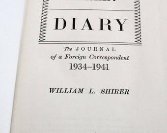 1945 diary 1940 vintage berlin