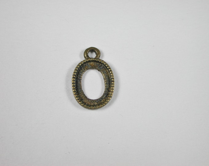 Picture frame oval, up 39007 for the doll's room, the Dollhouse, Dollhouse miniatures, cribs, miniatures, model building
