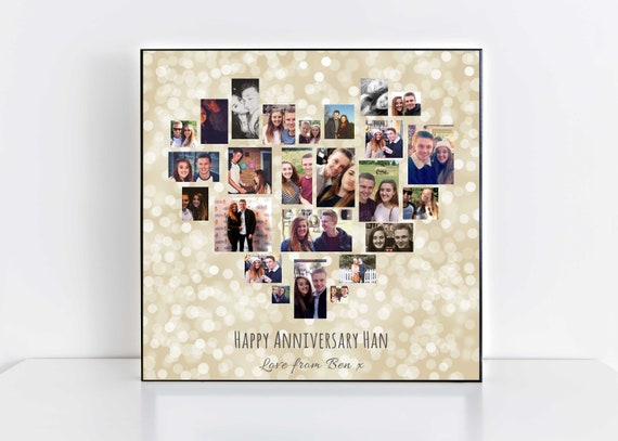Anniversary photo collage digital photo collage anniversary