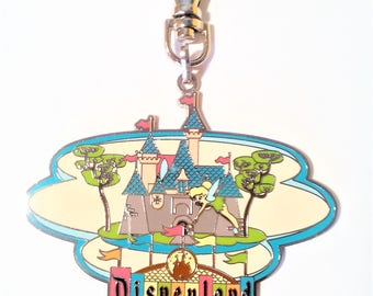 """Disney Lanyard Medal """"TinkerBell Tink Markquee Disnlyland The Happiest Place On Earth EST. 1955"""""""