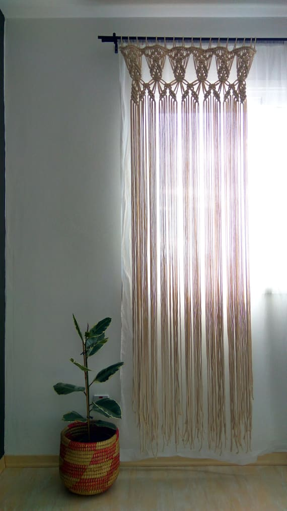 Macrame Curtains Part - 39: Like This Item?