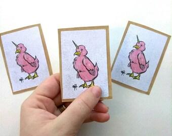 Unicornified Duckling Sticker