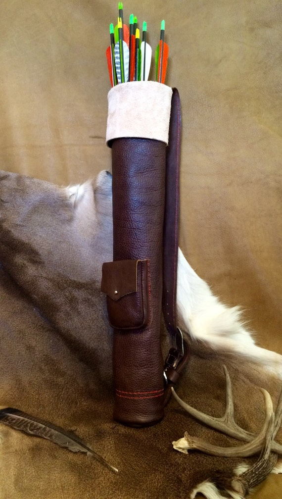 Leather Quiver for Archery