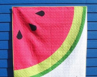 Sliced Quilt Pattern/Watermelon Quilt