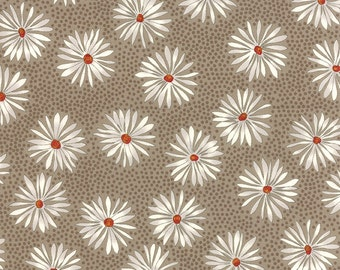 One For You One For Me by Pat Sloan - Floral Straw Flower - Nickle - Moda 43042 17