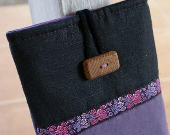 Apple iPad mini case/ linen