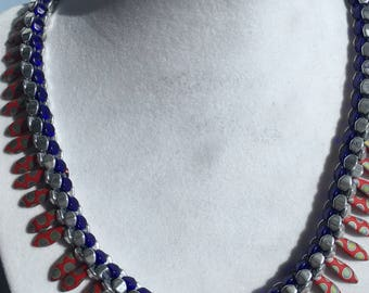 Dramatic Beaded Chocker Necklace