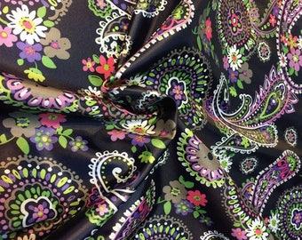 130cm x 150cm OXFORD 210D Fabric Flowers OG Waterproof