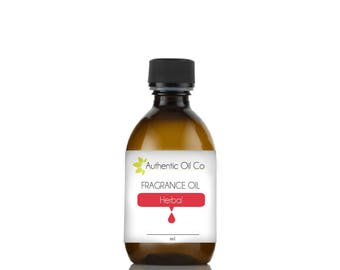 Herbal fragrance oil concentrate for soap bath bombs and candles cosmetics