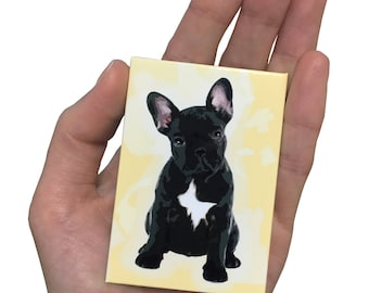 French Bulldog Dog Magnet