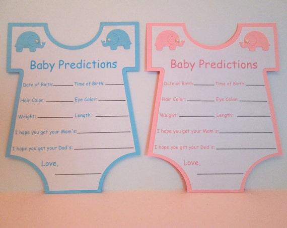 10 baby shower spiele baby vorhersage karten baby dusche. Black Bedroom Furniture Sets. Home Design Ideas