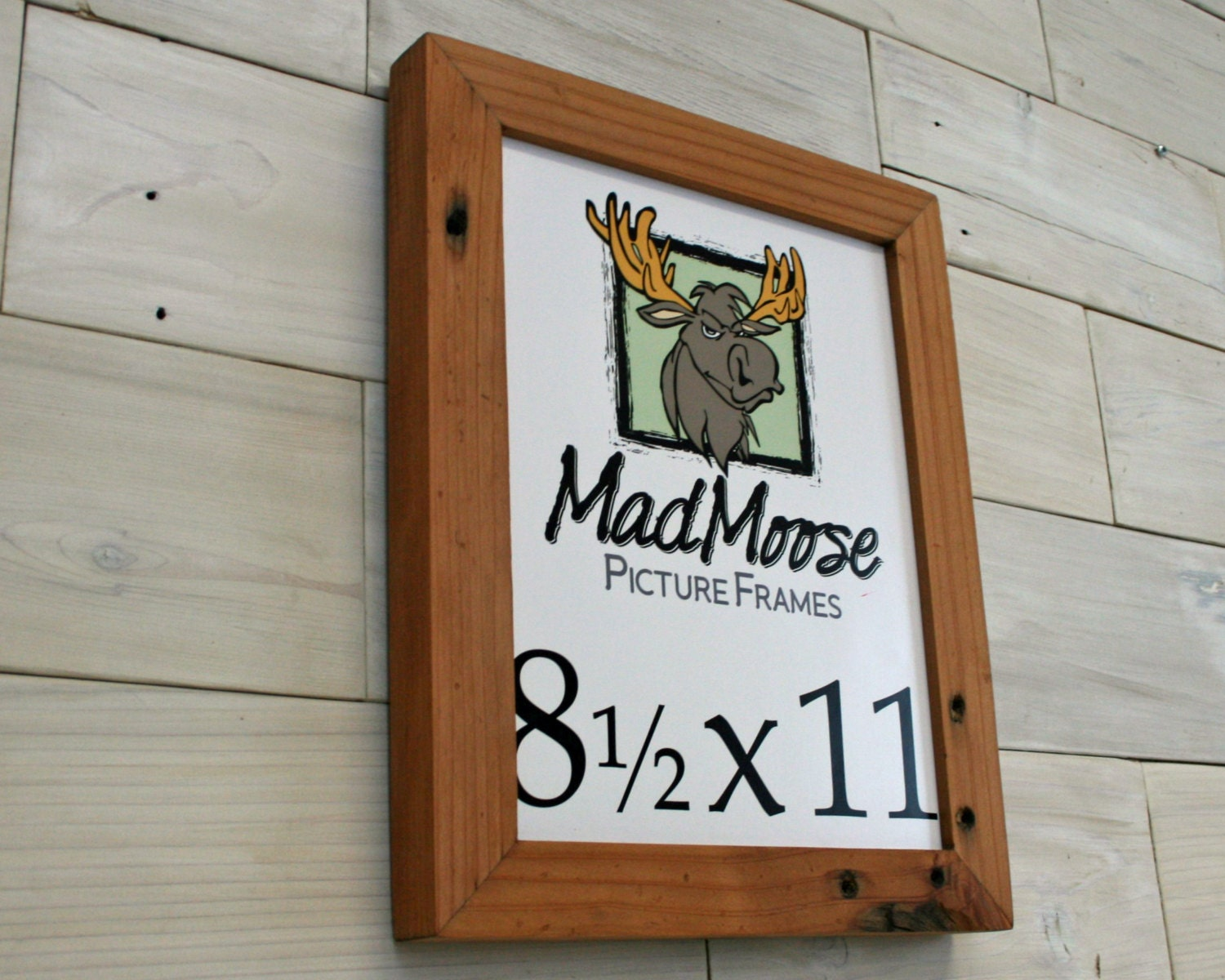 8.5x11 Reclaimed Redwood [Chunky x 1.25] Picture Frame . . (tags ...