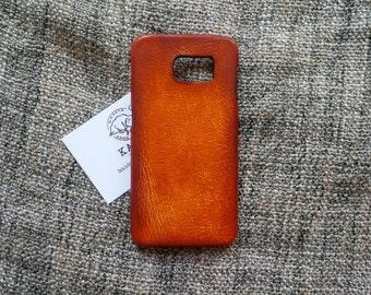 Samsung galaxy s6 ''Old BritTan'' leather case