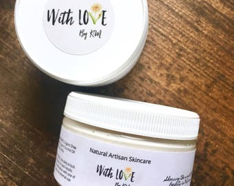 Vanilla Body Butter Whipped Body Butter Lotion Organic Vanilla Body Butter Vegan Skincare Body Cream Dry Skin Lotion Organic Body Lotion