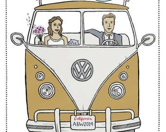 Wedding Invite ( California Wedding )