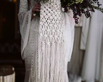 Beaded Bouquet Wrap