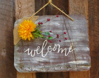 Welcome Tin Sign