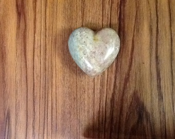 Polished Stone Heart Rock