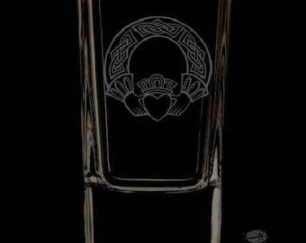 Irish 2.5 Ounce Personalized Shot Glass