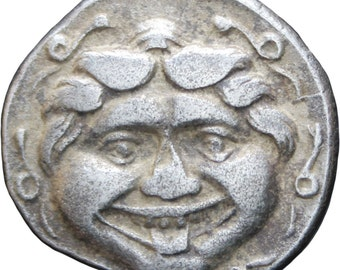 Ancient Greece 4th century BC Parion, Mysia AR Hemidrachm