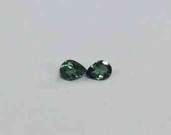 Brazil Alexandrite Pear Pair 4x3mm (Color Change) Green to Purple