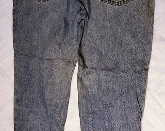 Faded Glory Denim Jeans 36 x 30  Zip Front Jeans