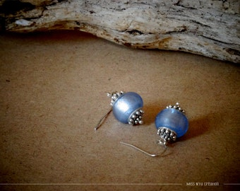 Earrings with Indian inspiration