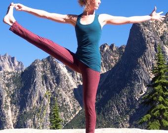 Inventory SALE - Hemp Inspire Yoga Pants - Women's organic yoga clothing - eco-friendly leggings