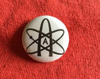 """Atheist  1"""" button pin"""