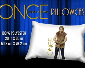 Once Upon a Time Emma Swan Pillowcase
