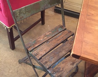 French Bistro Chairs Folding Set of 6