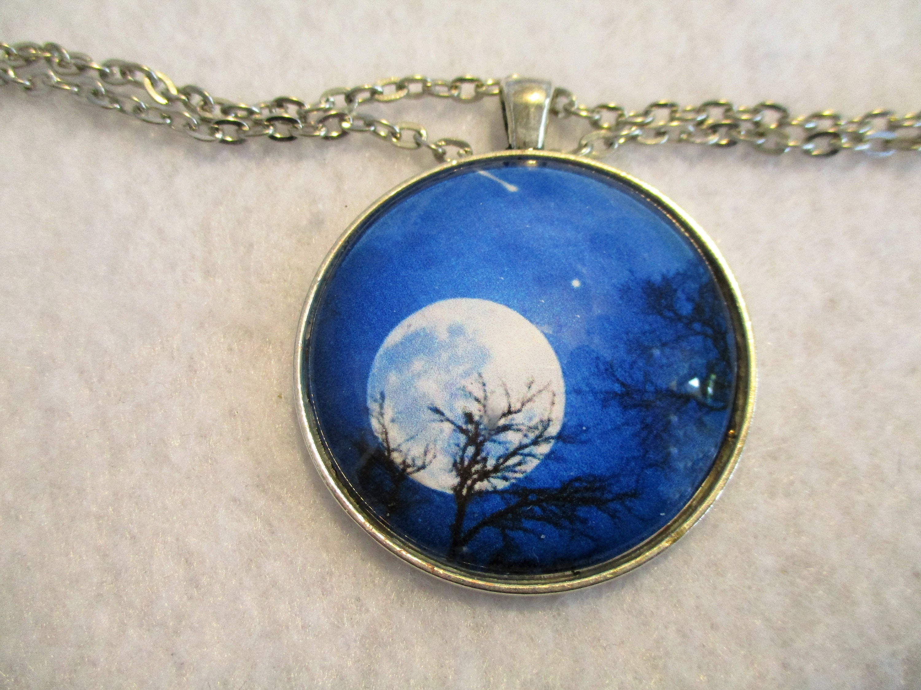 dream gold bright il by night sold crescent golden aimvogue fullxfull necklace sky moonlight moon listing