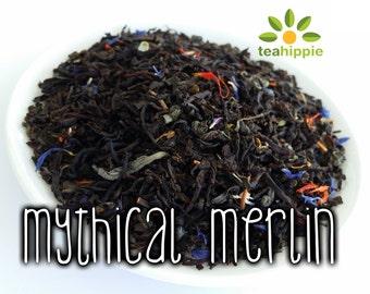 50g Mythical Merlin - Loose Black Tea (BBC Merlin Inspired)