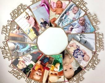 Birthday bunting, photo bunting, personalised photo bunting, first birthday gift, baby shower present, first birthday bunting