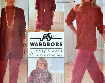 Knit Separates Sewing Pattern Simplicity 9862 Misses' Knit Separates  Size 16 to 24 Bust 38-46 inches Complete Uncut FF