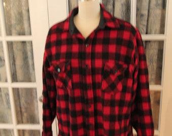 1980's Woolrich Plaid Shirt