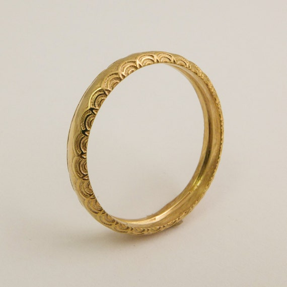 simple wedding ring 14 karat gold simple wedding ring for women gold ring with 7520