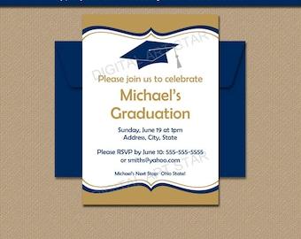 grad party invite template